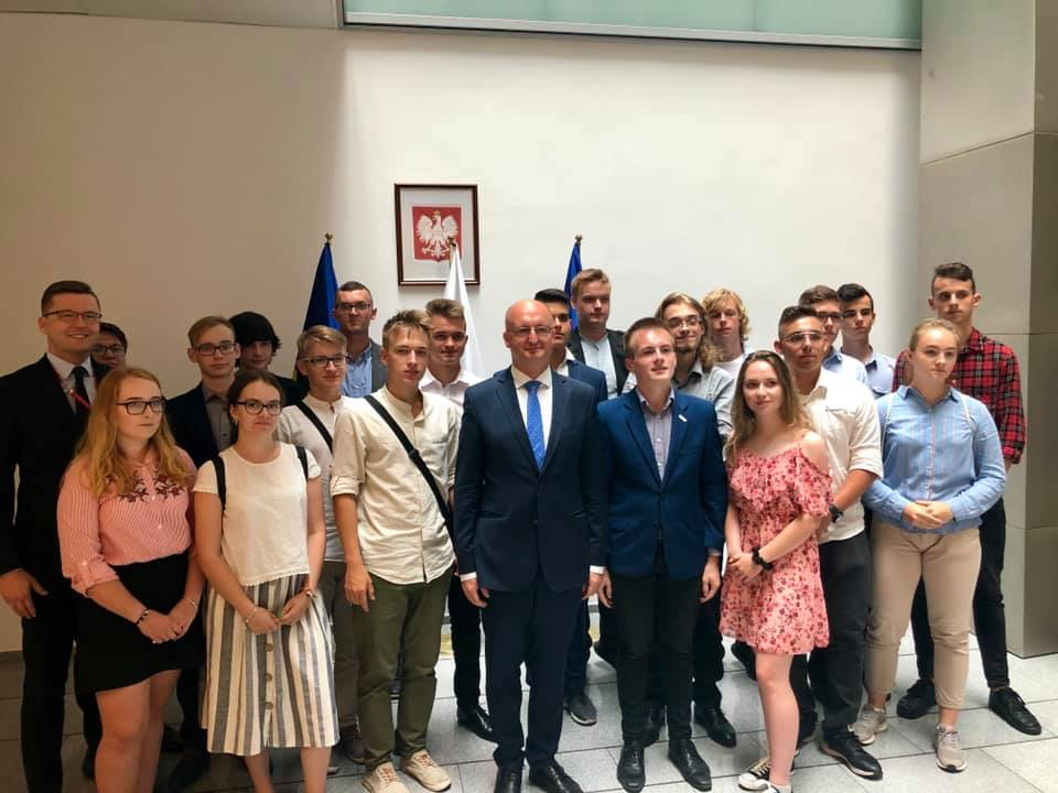 Spotkanie młodzieży z ministrem