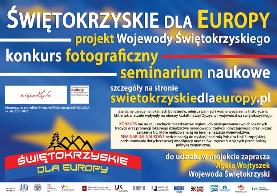 """Konkurs fotograficzny """"Świętokrzyskie dla Europy"""""""