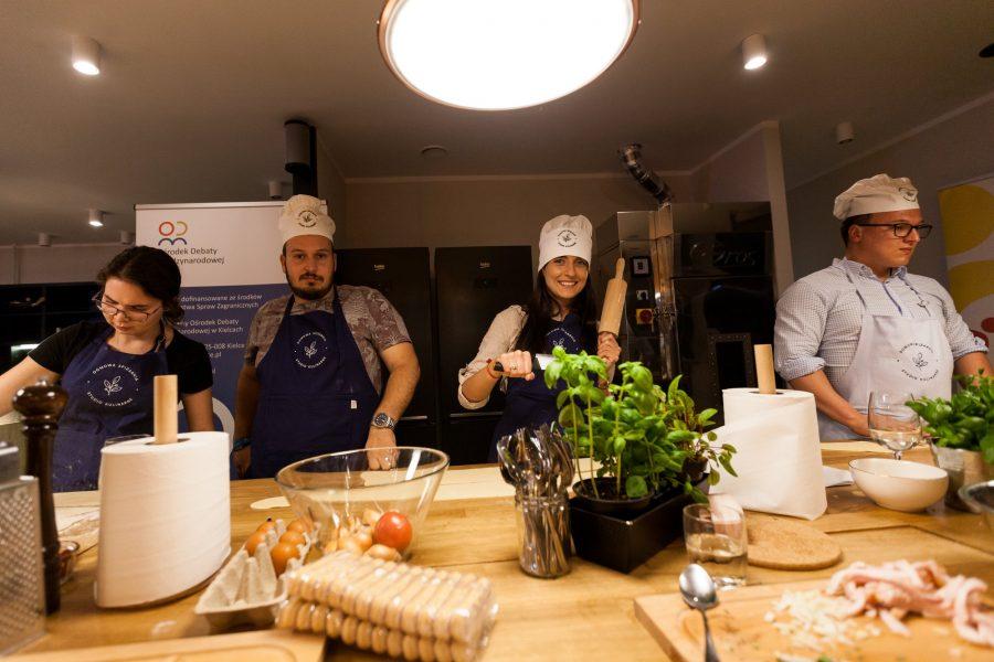 Pierwsze warsztaty kulinarno-kulturalne RODM Kielce.