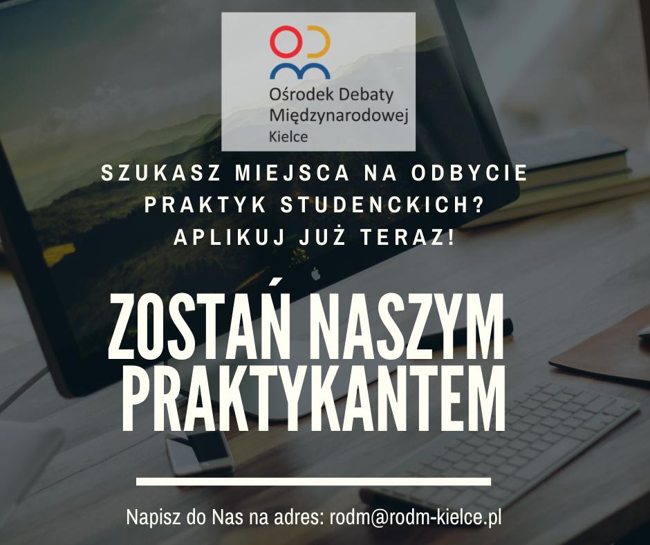 Praktyki w RODM Kielce