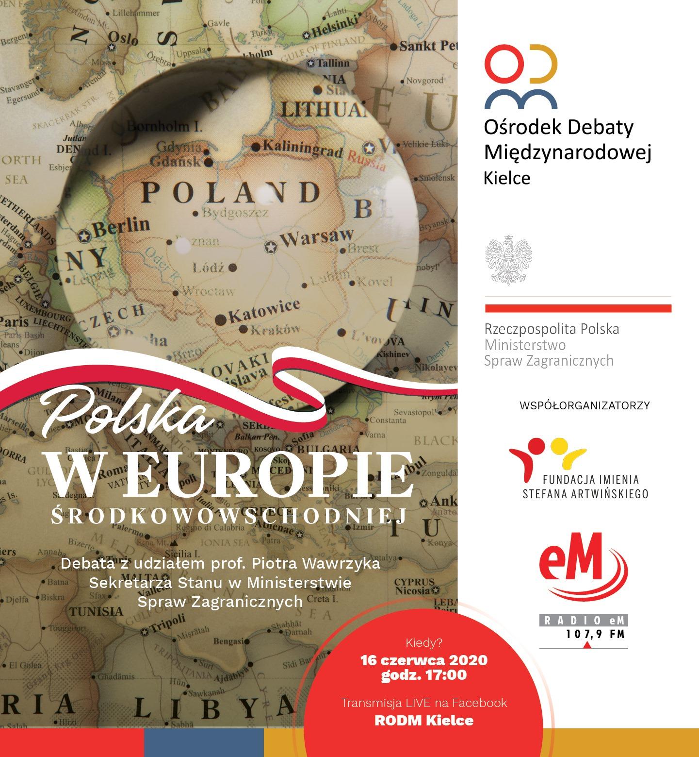 Polska w Europie Środkowowschodniej