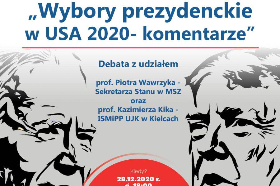 Wybory prezydenckie w USA 2020 – komentarze