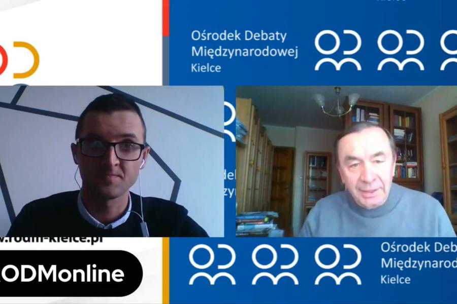 Rozmowa ekspercka w ramach #RODMonline o współpracy wyszehradzkiej za nami!