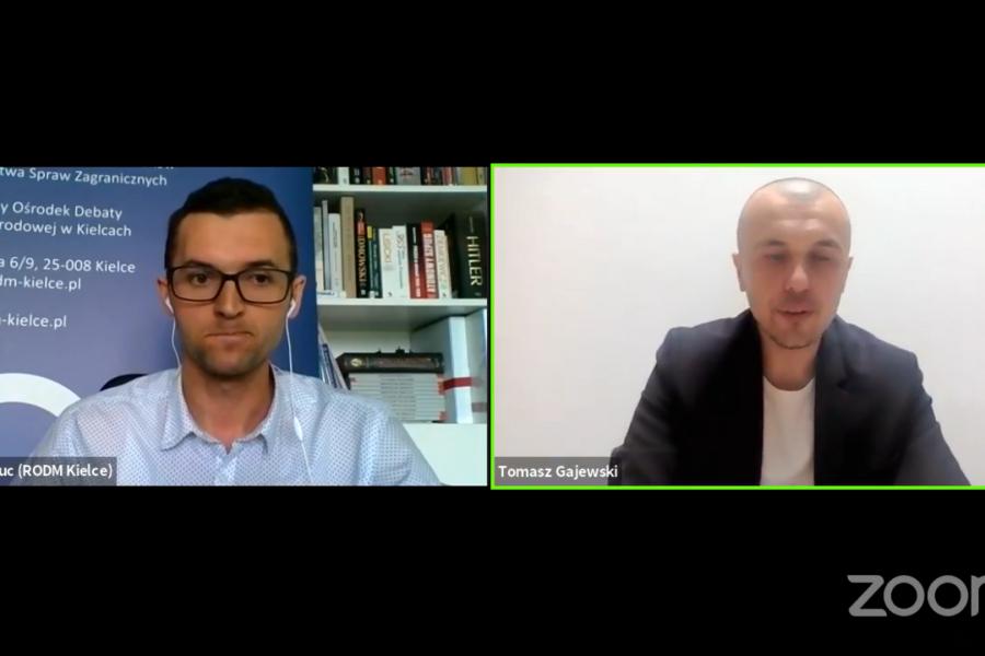 Rozmowa ekspercka z dr Tomaszem Gajewskim